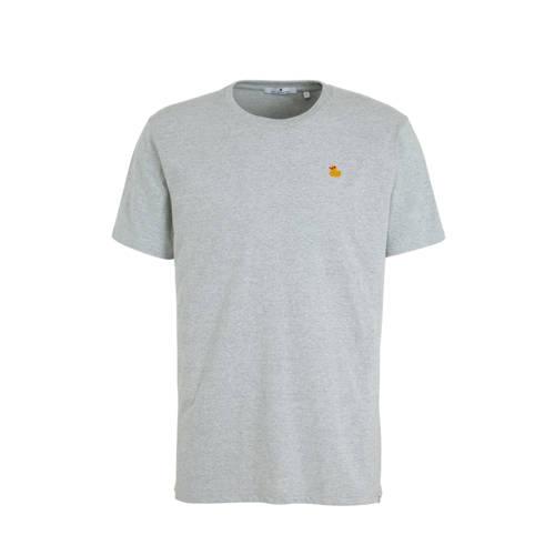 RVLT T-shirt blauw melange