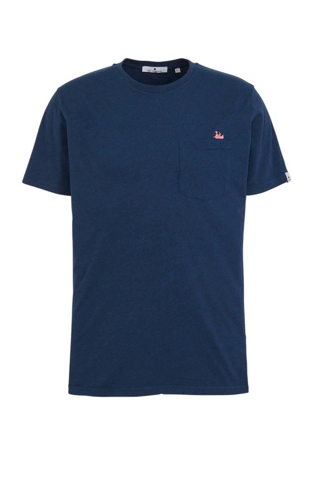 RVLT T-shirt marine, Marine