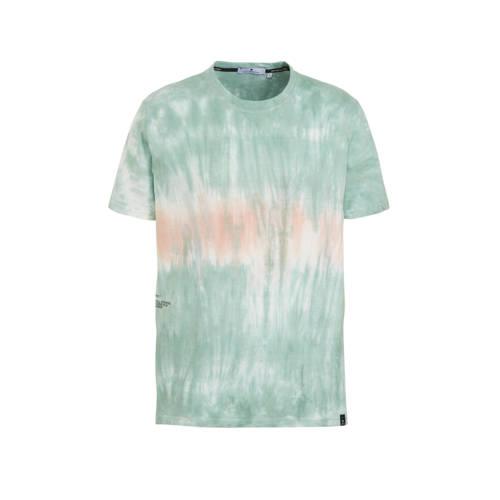 RVLT gem??leerd T-shirt lichtblauw