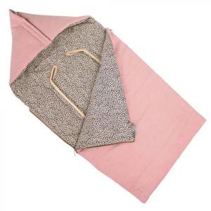 universele autostoel voetenzak rib/panter roze