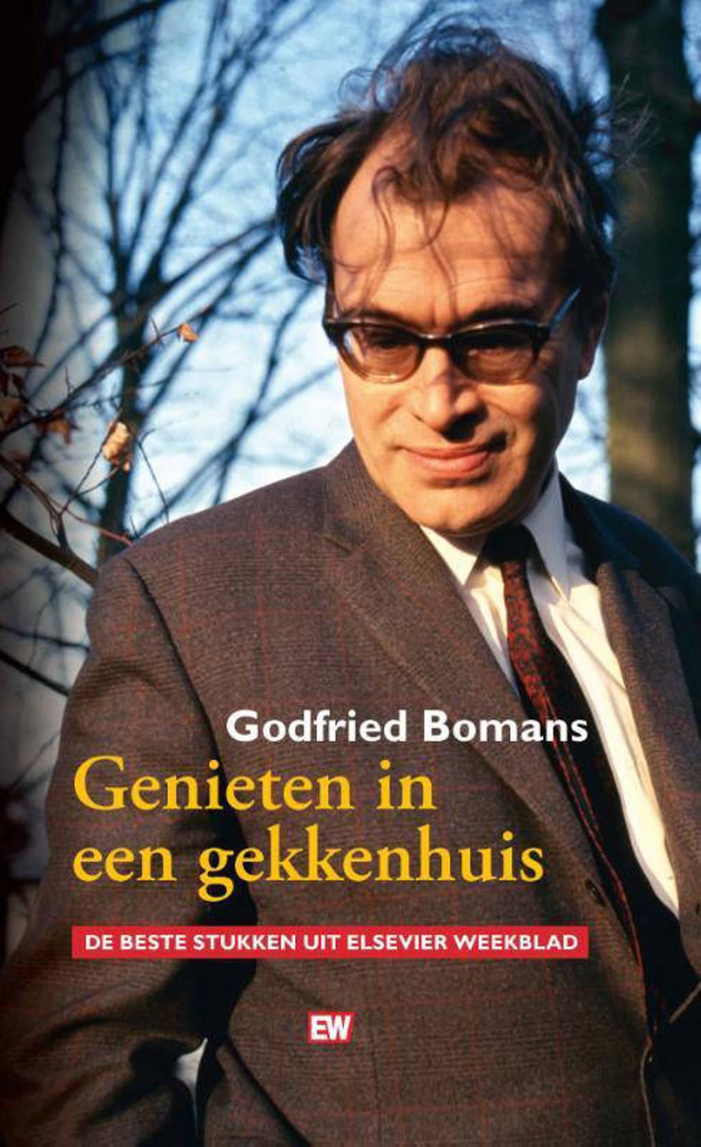 Genieten in een gekkenhuis - Godfried Bomans