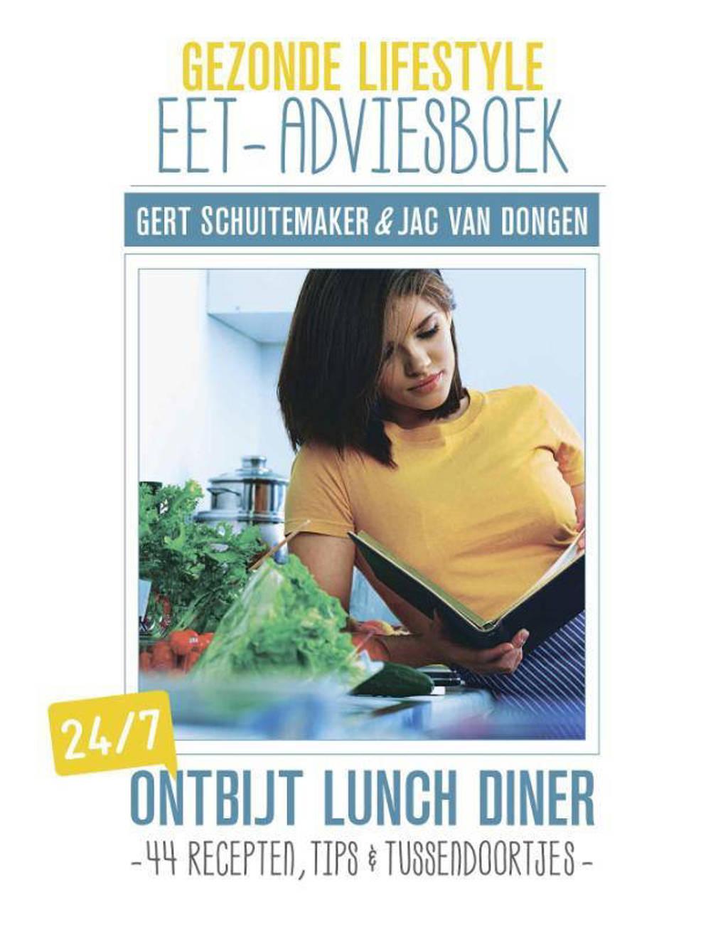 Gezonde lifestyle eet-adviesboek - Gert Schuitemaker en Jac van Dongen
