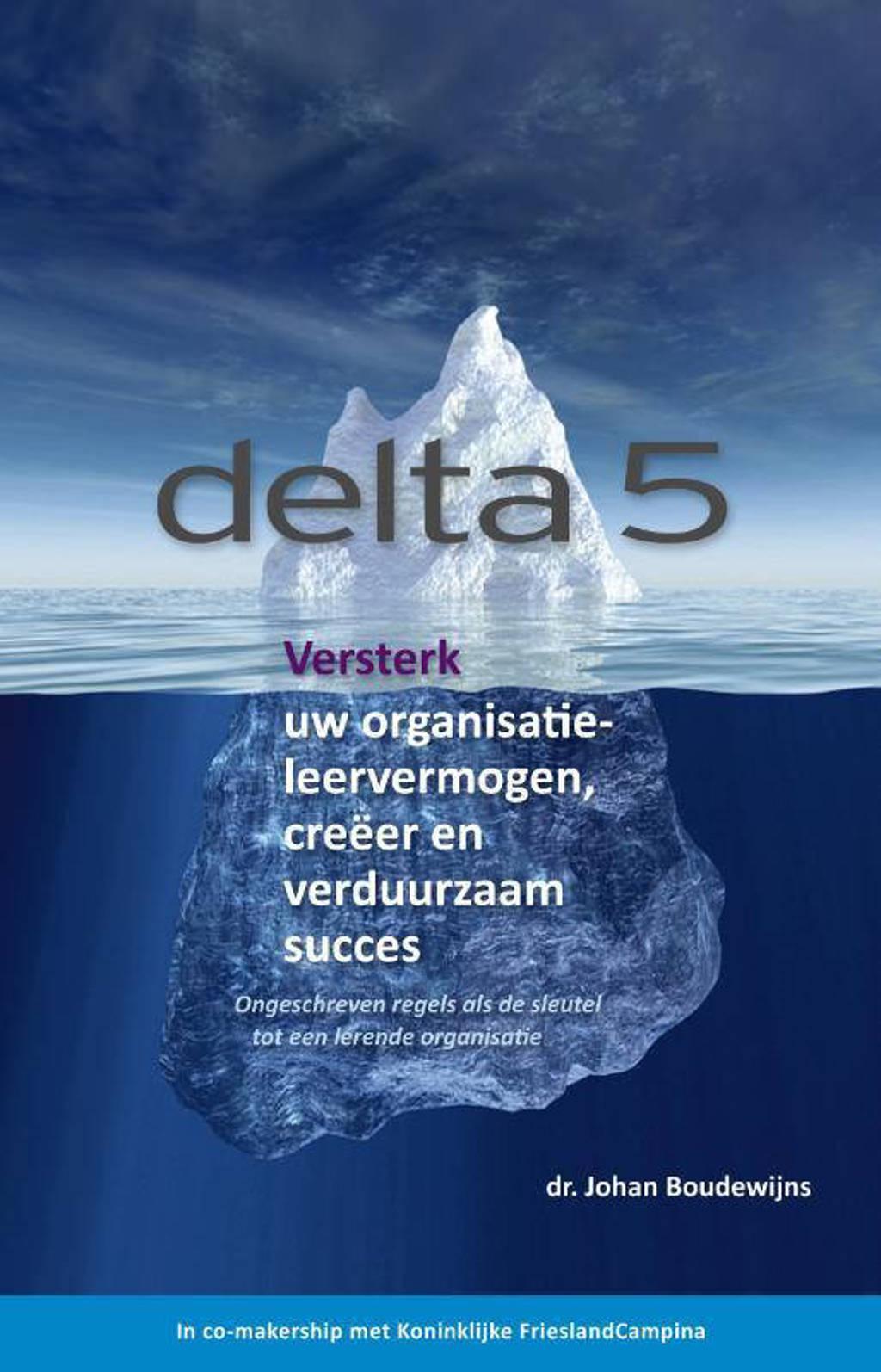 Delta: Versterk uw organisatieleervermogen, creeer en verduurzaam succes - Johan Boudewijns