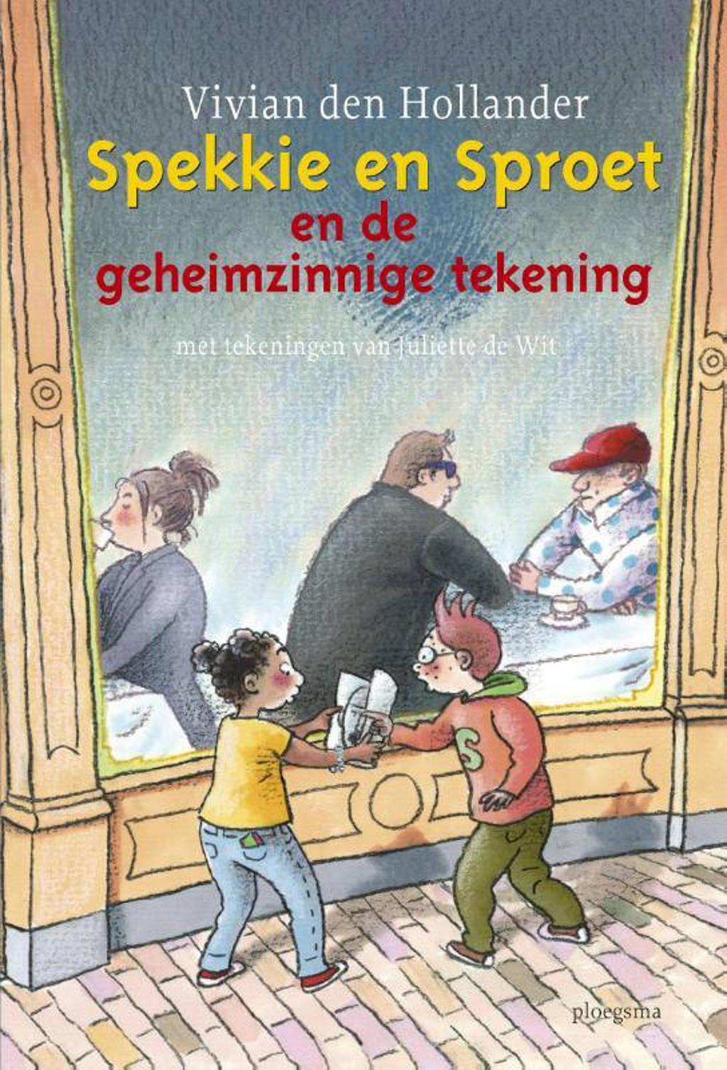 Spekkie en Sproet en de geheimzinnige tekening - Vivian den Hollander