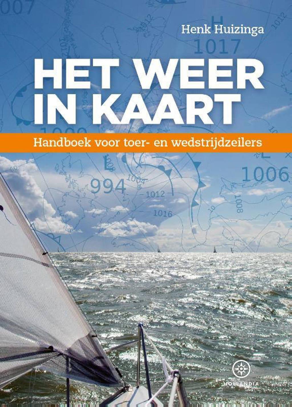 Het weer in kaart - Henk Huizinga