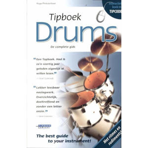Tipboek Drums - Hugo Pinksterboer
