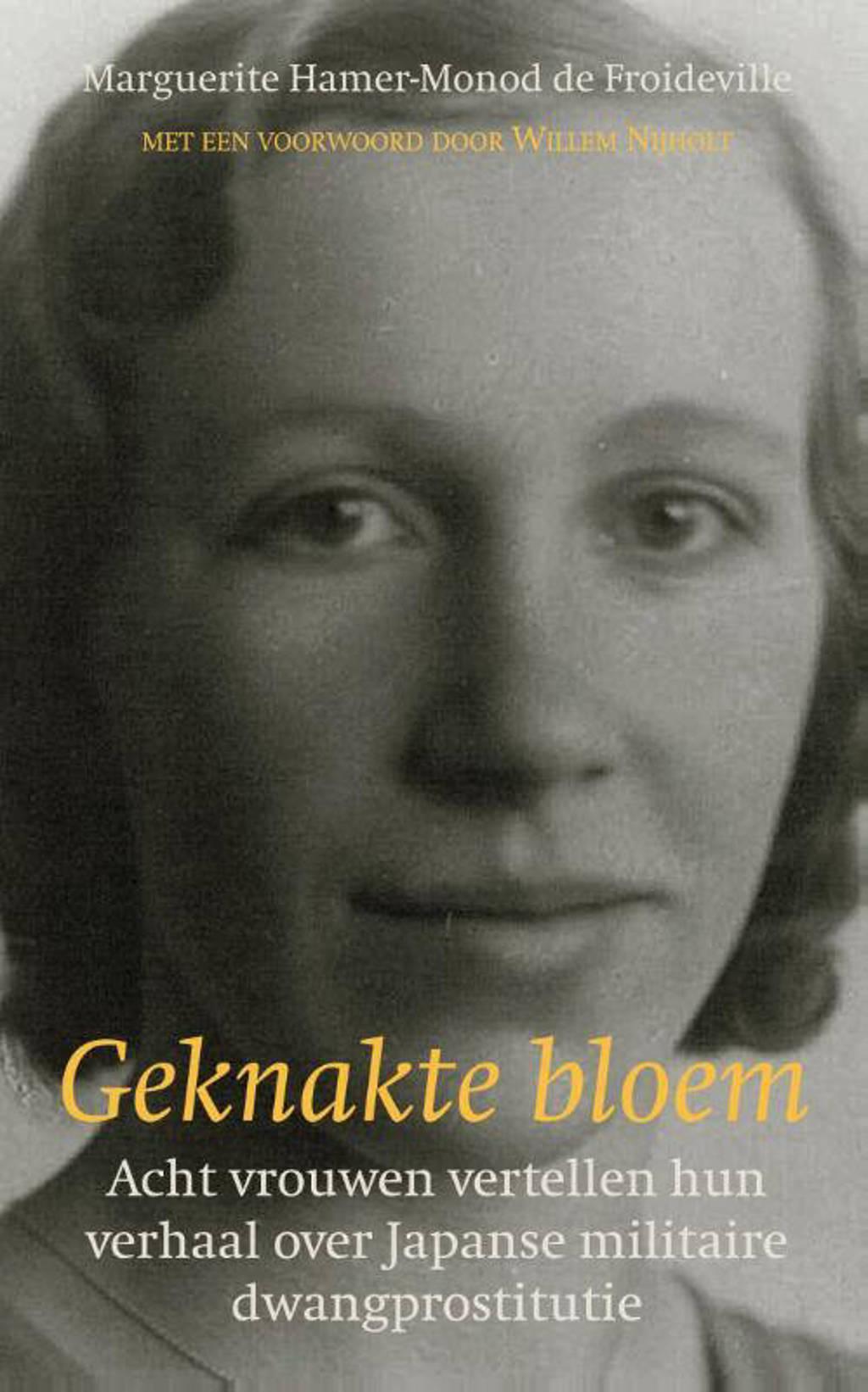 Geknakte bloem - Marguerite Hamer-Monod de Froideville