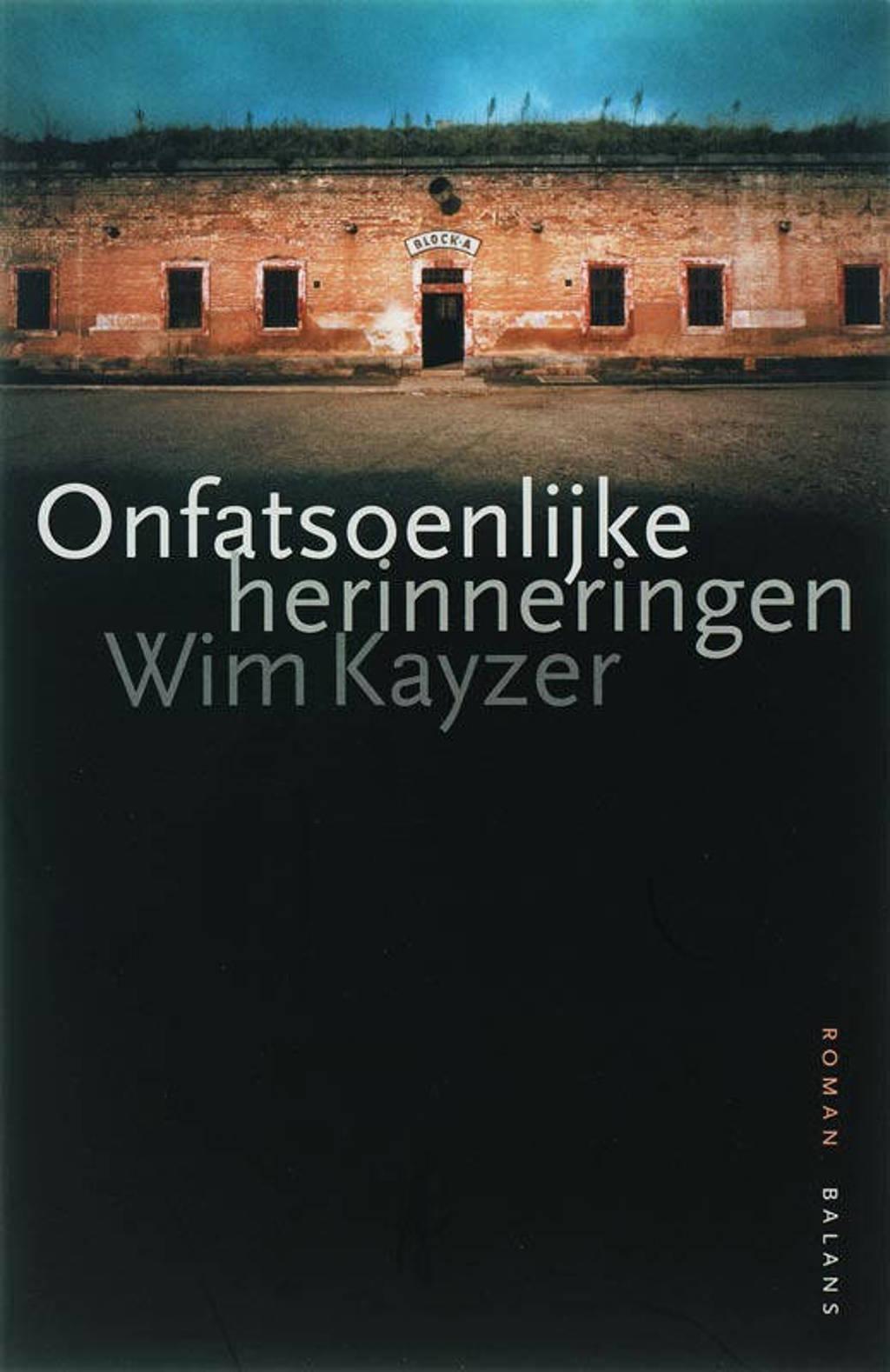 Onfatsoenlijke herinneringen - W. Kayzer