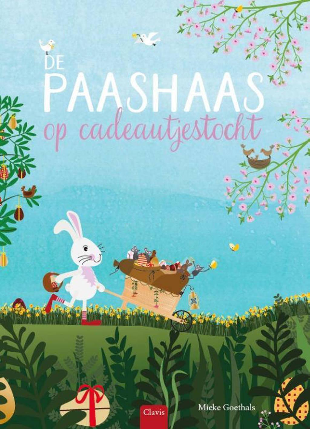 De paashaas op cadeautjestocht - Mieke Goethals