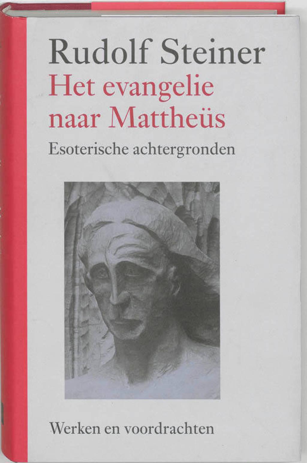 Werken en voordrachten: Het evangelie naar Mattheus - Rudolf Steiner