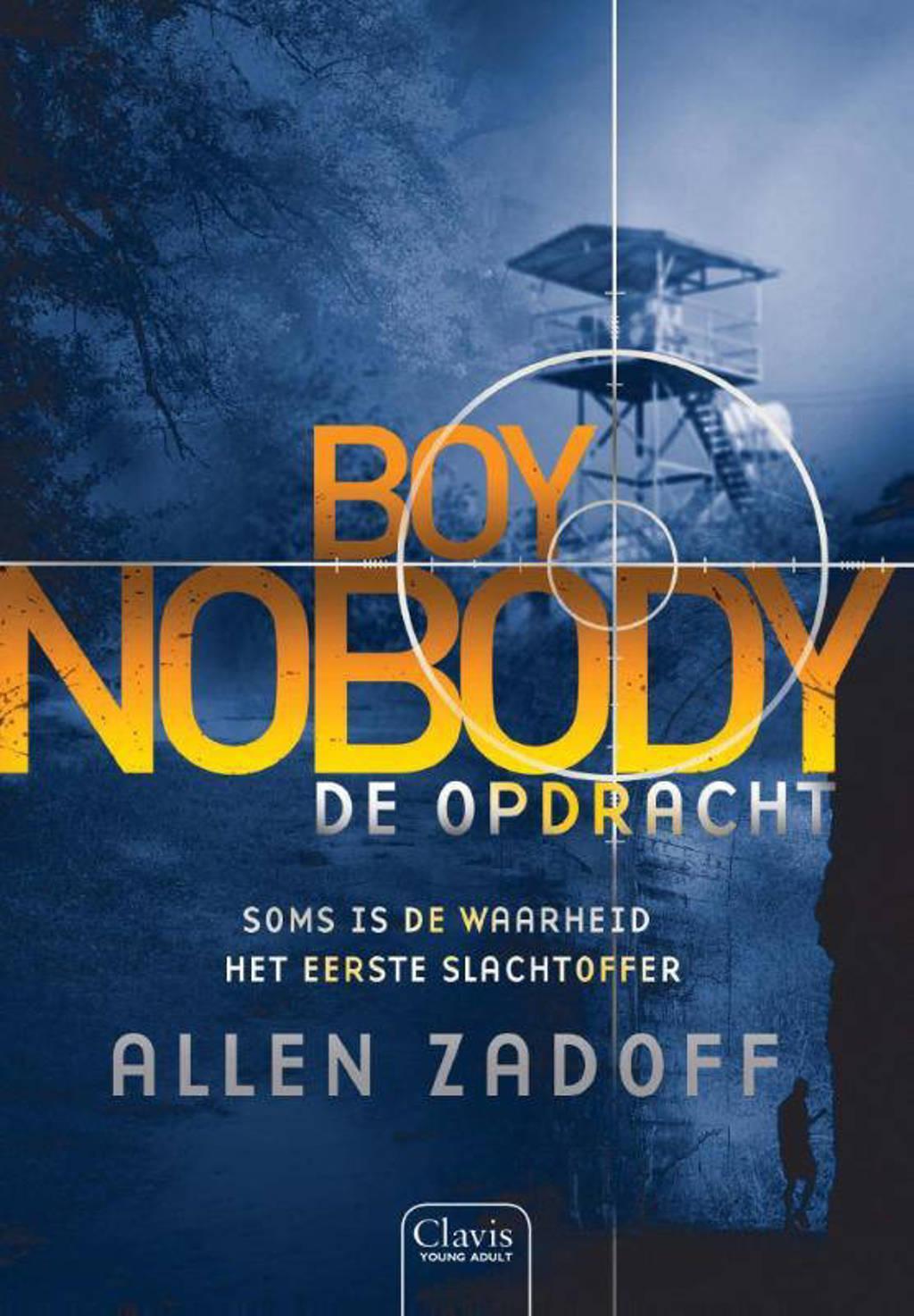 Boy nobody: De opdracht - Allen Zadoff
