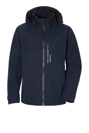 outdoor jas Aston donkerblauw