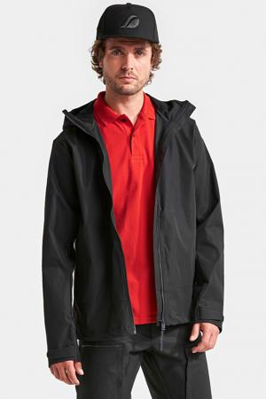 outdoor jas Flynn zwart