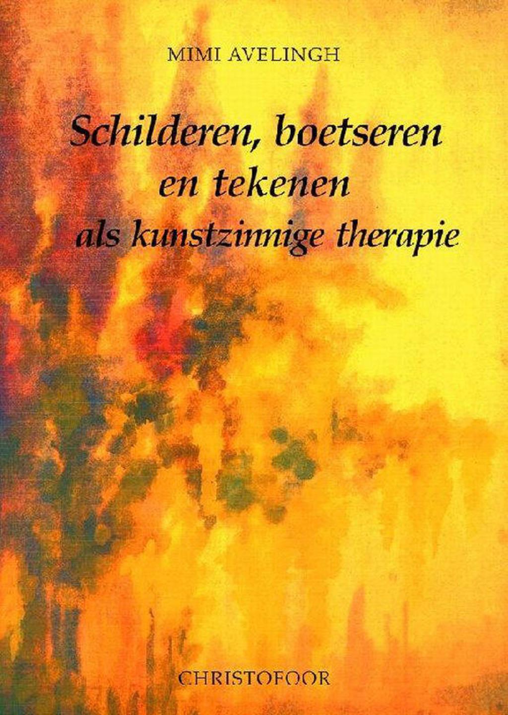 Schilderen, boetseren en tekenen als kunstzinnige therapie - M. Avelingh