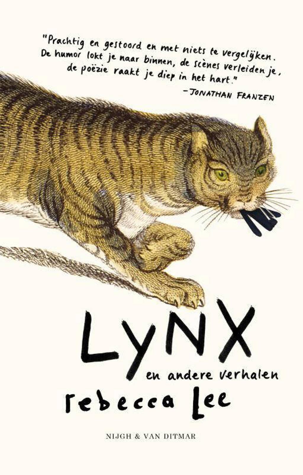 Lynx en andere verhalen - Rebecca Lee