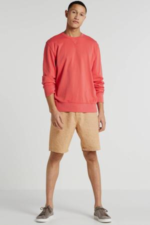 sweater koraalrood