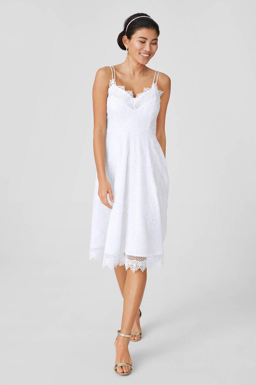 C&A Yessica jurk met kant ecru, Ecru