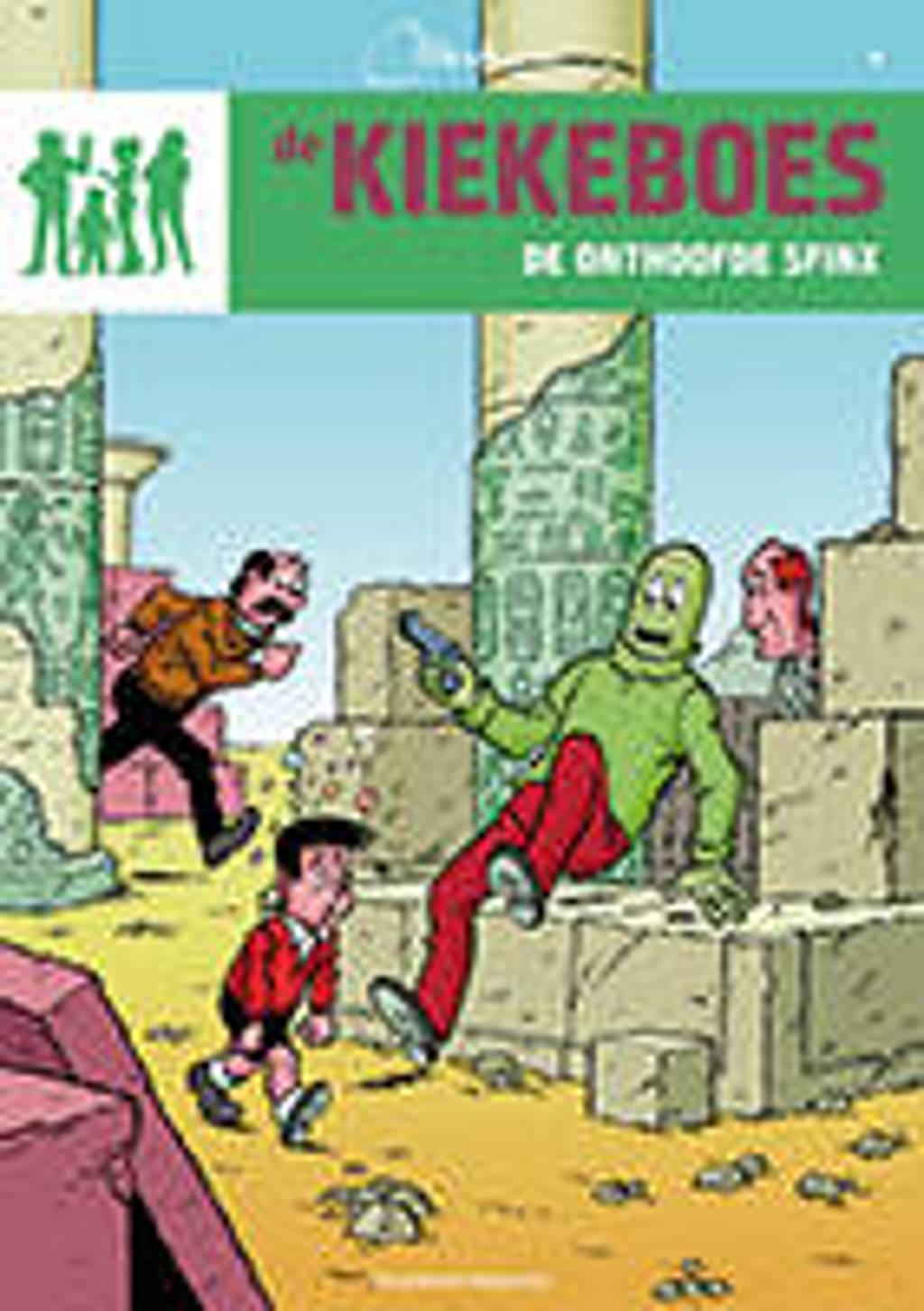 De Kiekeboes: De onthoofde Sfinx - Merho