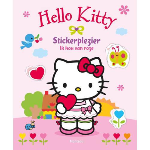 Hello Kitty: Stickerplezier Ik hou van roze