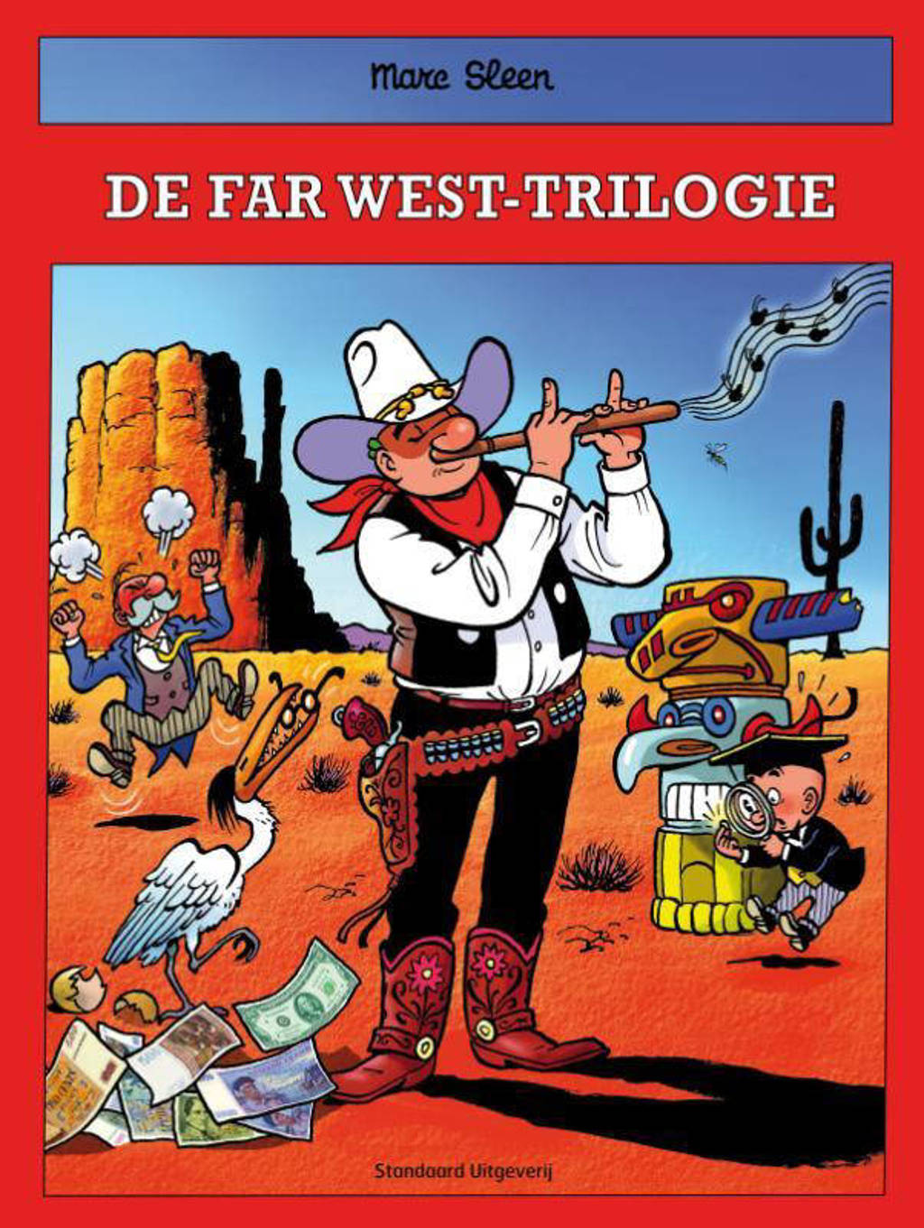 De avonturen van Nero: De far west-trilogie - Marc Sleen