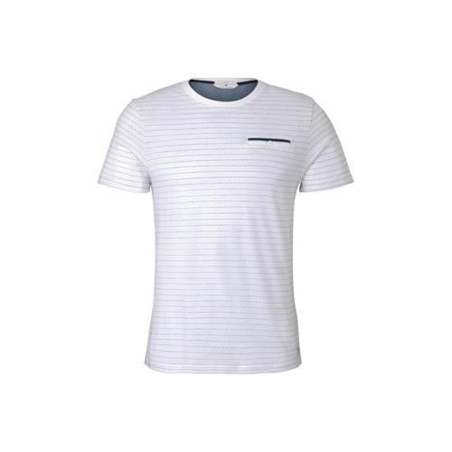 Tom Tailor gestreept T-shirt wit