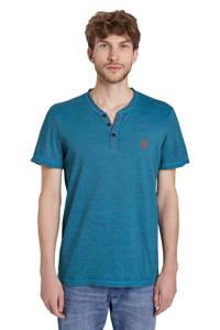 Tom Tailor T-shirt blauw, Blauw