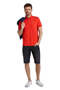 Tom Tailor slim fit polo rood, Rood
