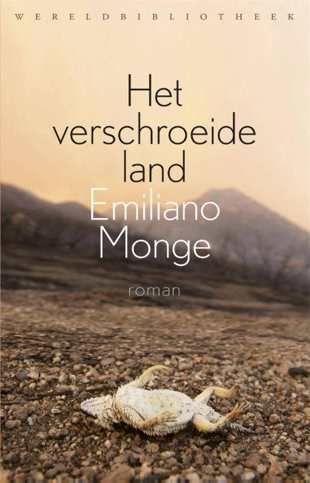 Het verschroeide land - Emiliano Monge