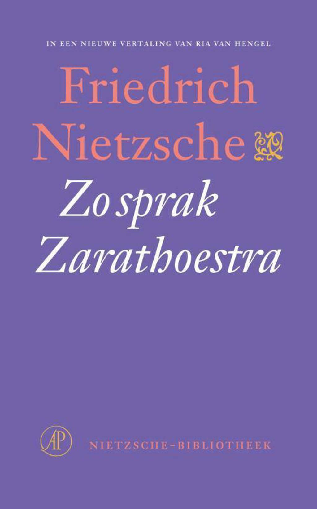 Nietzsche-bibliotheek: Zo sprak Zarathoestra - Friedrich Nietzsche