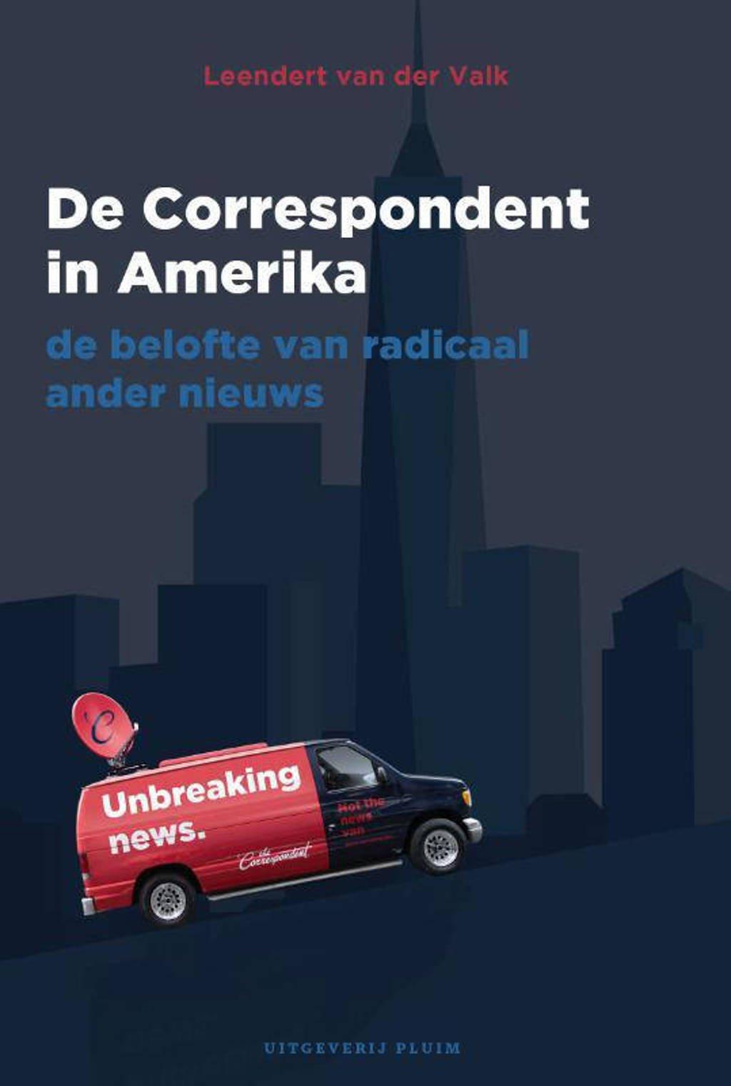 De Correspondent in Amerika - Leendert van der Valk