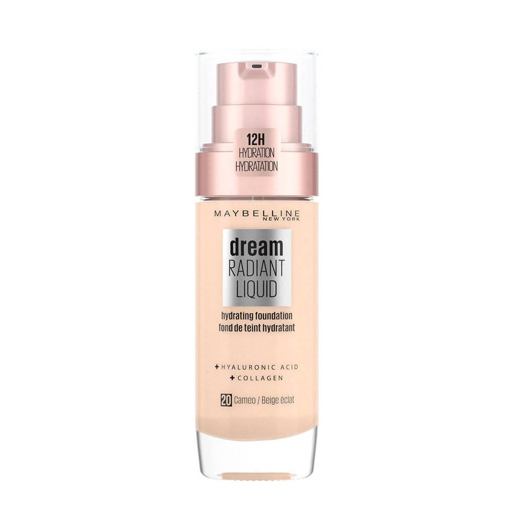 Maybelline New York Dream Radiant Liquid Foundation - 20 Cameo