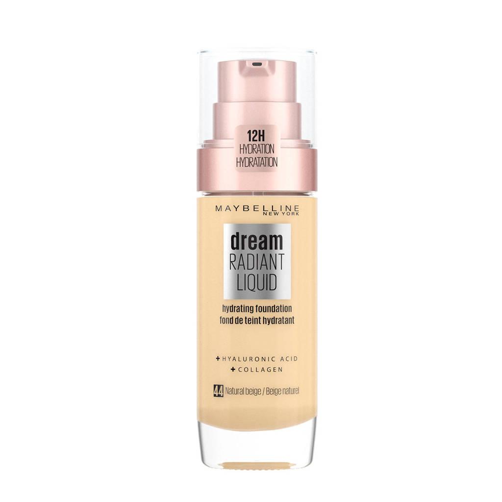 Maybelline New York Dream Radiant Liquid Foundation - 044 Natural Beige