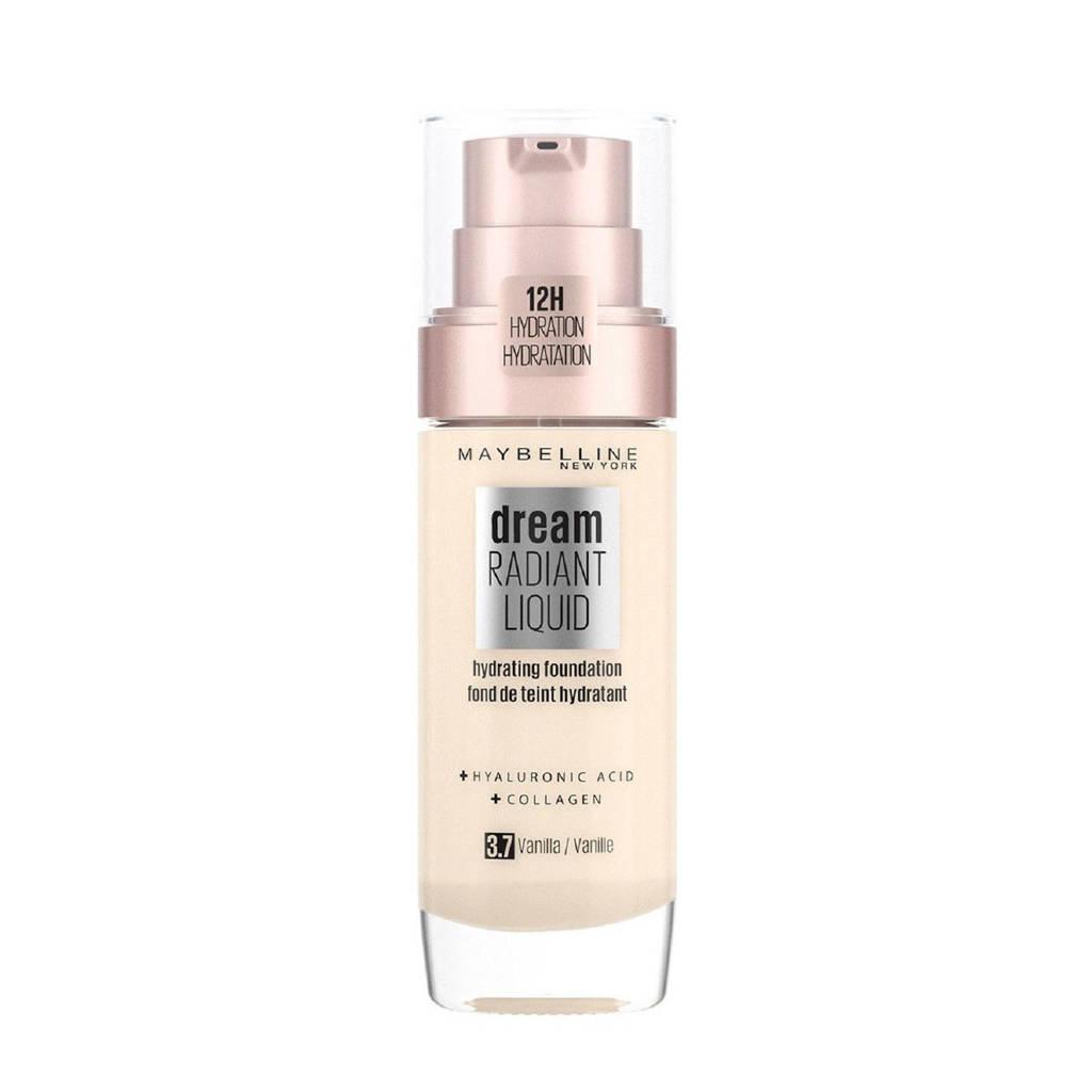 Maybelline New York  Dream Radiant Liquid Foundation - 3.7 Vanilla