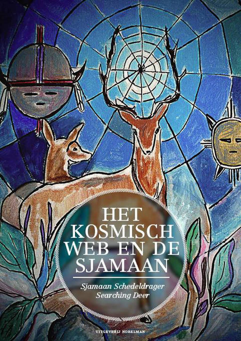 Het kosmisch web en de sjamaan - Jan Sjamaan Schedeldrager Searching Deer