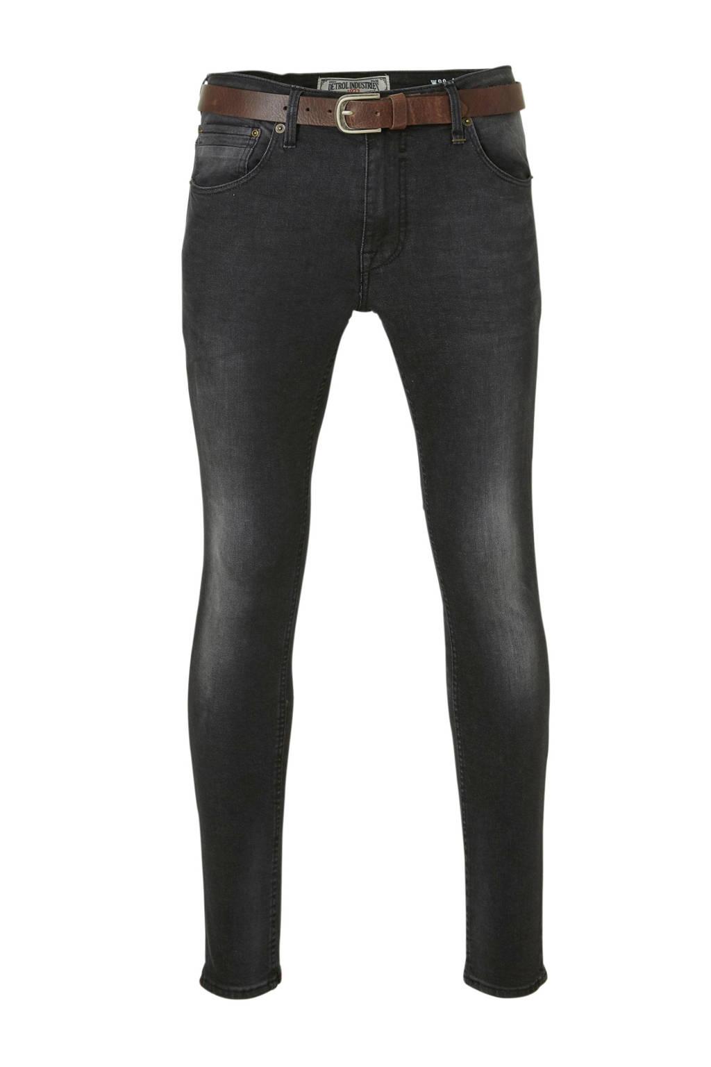 Petrol Industries skinny jeans Nolan black stone, Black Stone