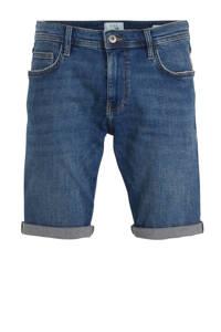 edc Men regular fit jeans short donkerblauw, Donkerblauw