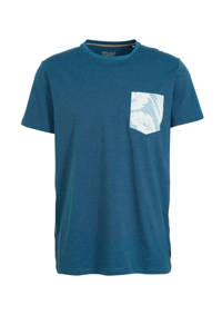 ESPRIT Men Casual T-shirt petrol, Petrol