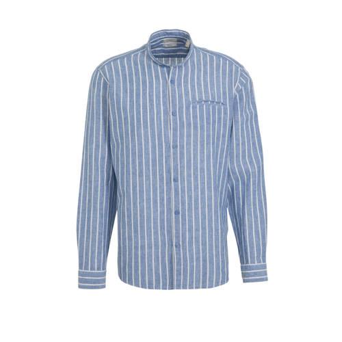 ESPRIT Men Casual gestreept slim fit overhemd met