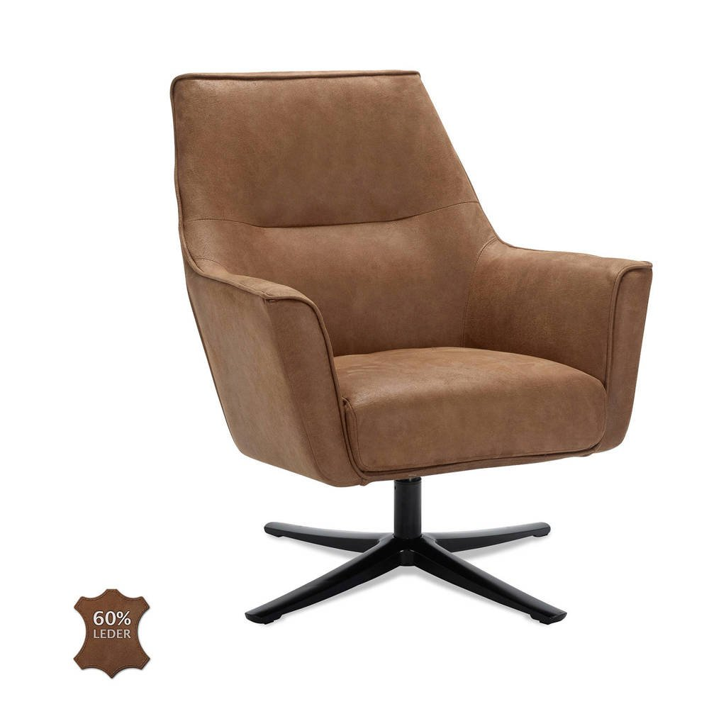 anytime fauteuil Bram, Camel