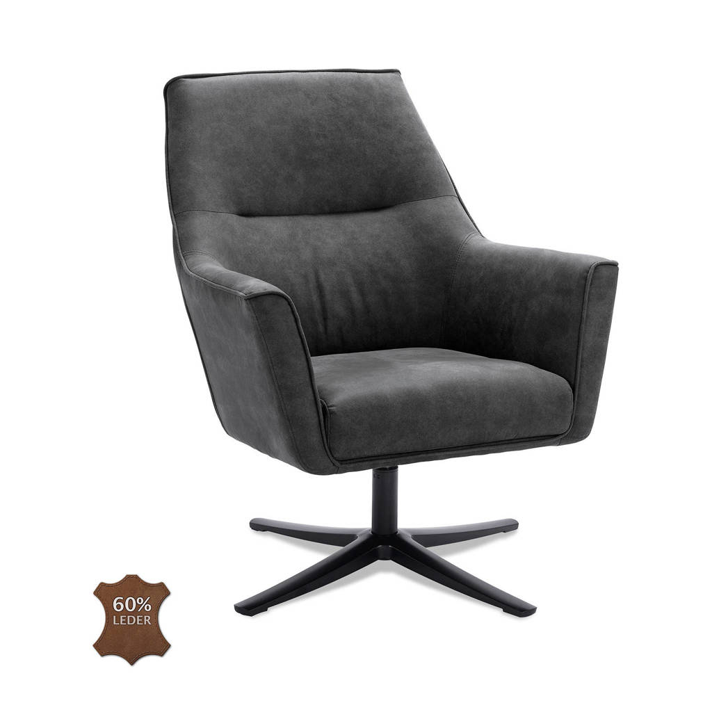 anytime fauteuil Bram, Graphite