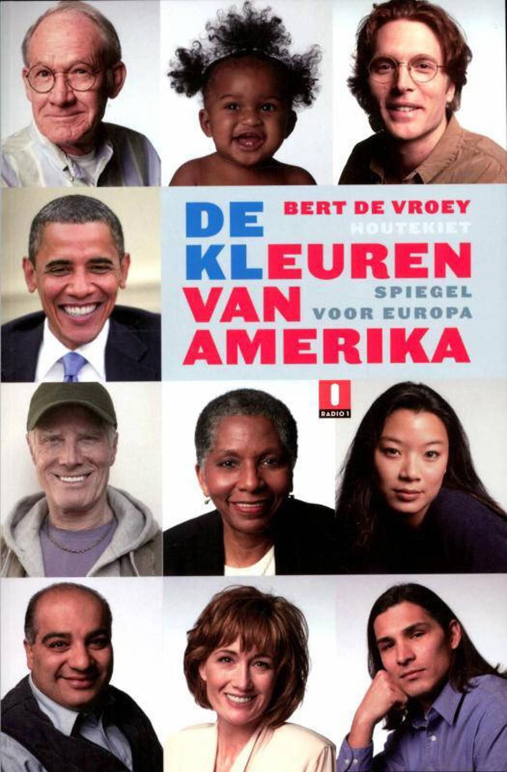 De kleuren van Amerika - Bert de Vroey