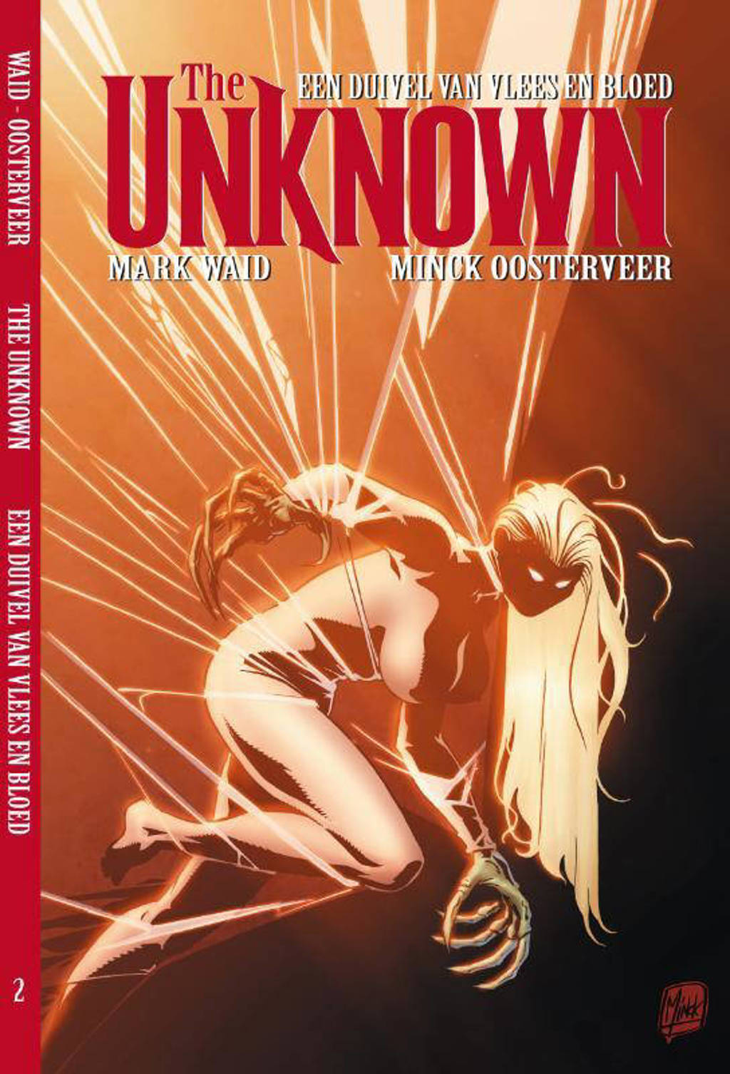 The Unknown: Een duivel van vlees en bloed - Mark Waid