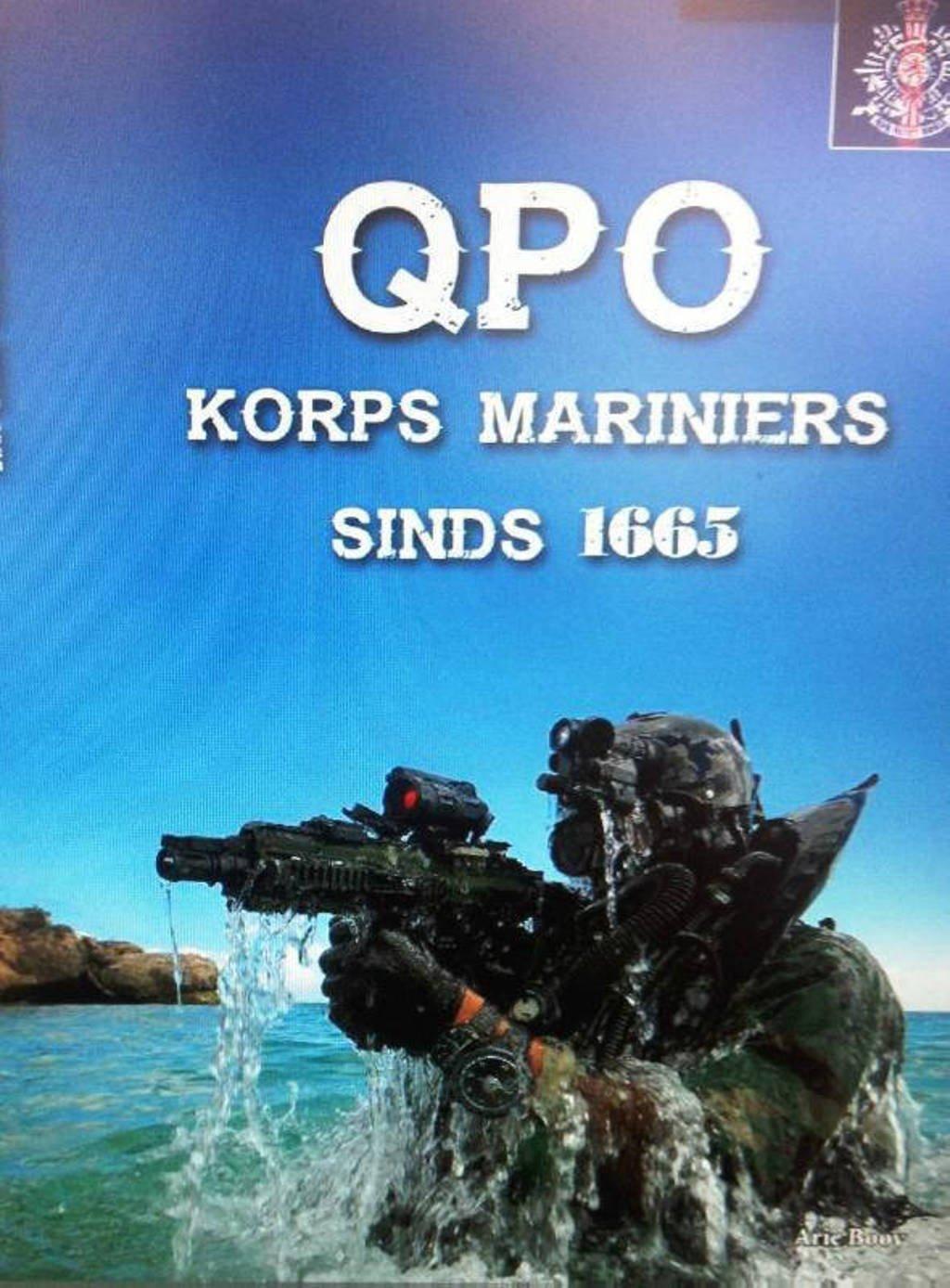 QPO, Korps Mariniers sinds 1665