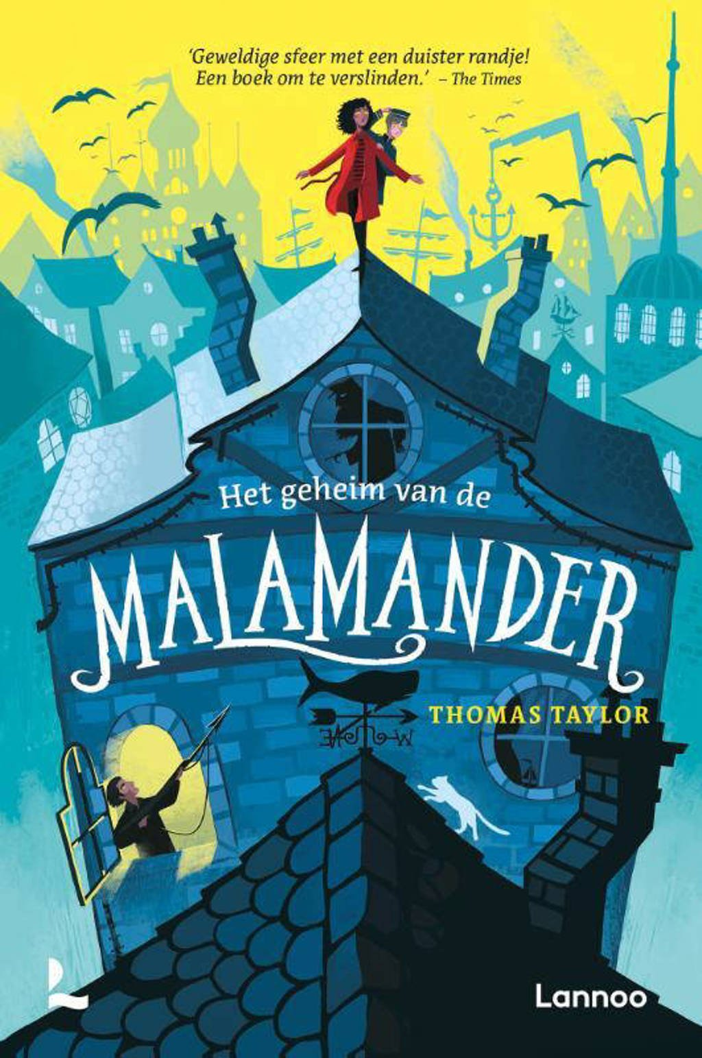 Het geheim van de malamander - Thomas Taylor