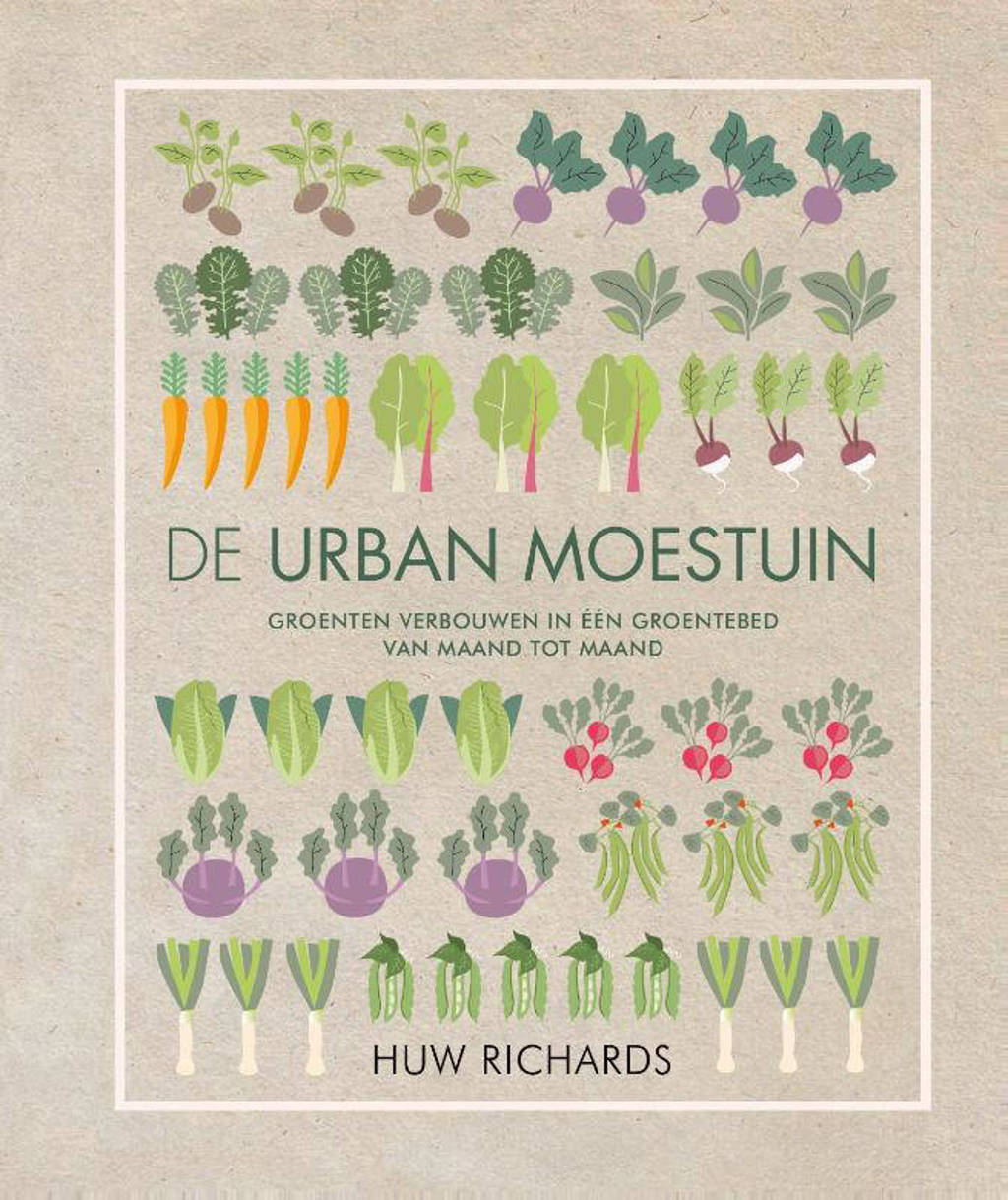 De urban moestuin - Huw Richards