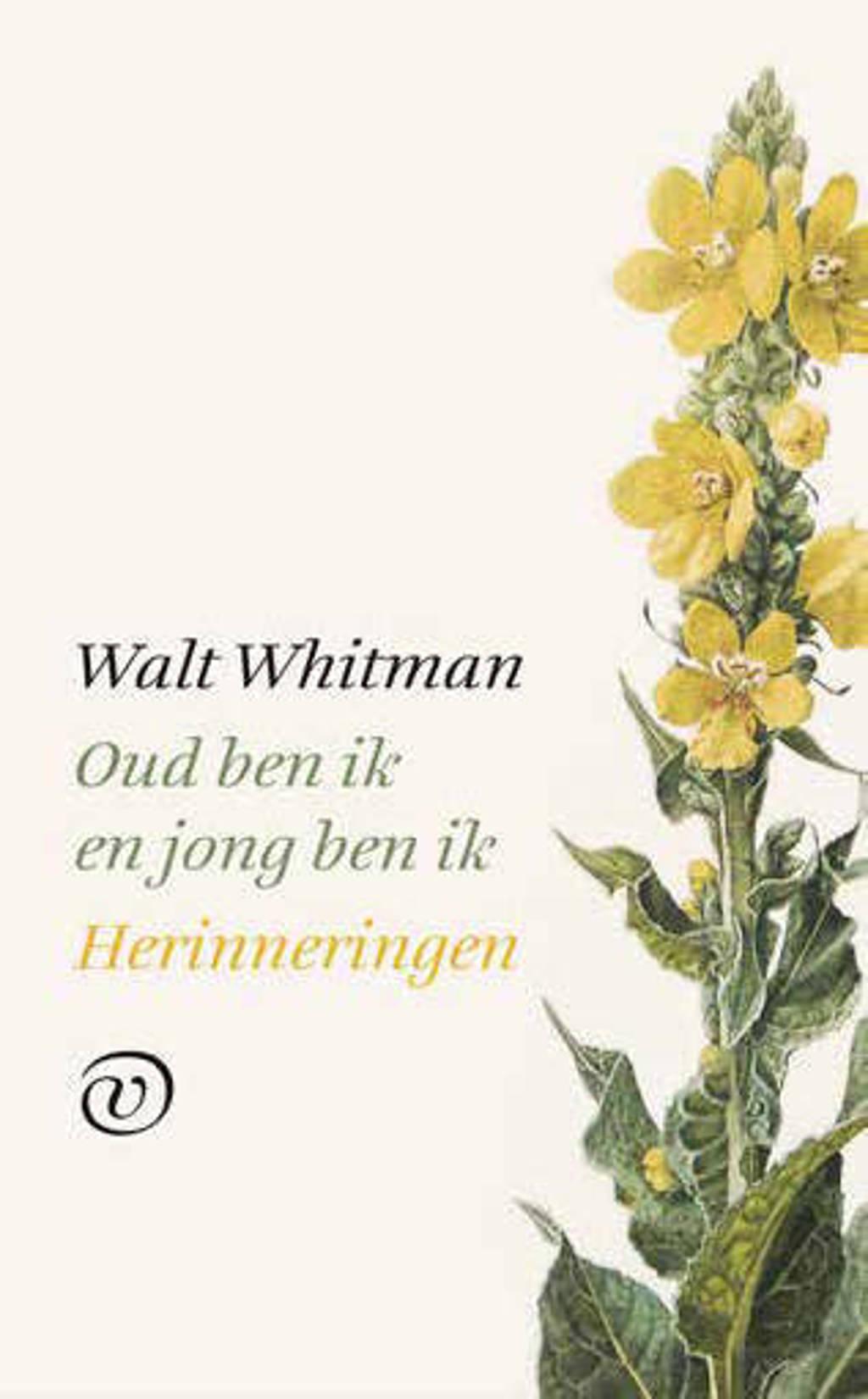 Oud ben ik en jong ben ik - Walt Whitman