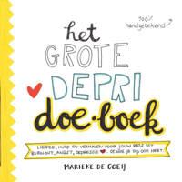 Het grote depri Doe-Boek - Marieke de Goeij