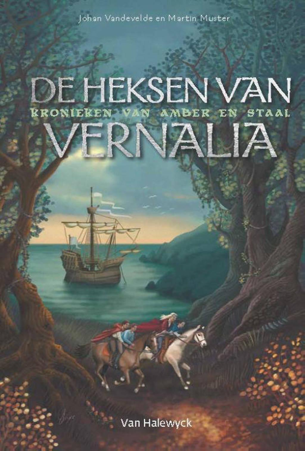 De heksen van Vernalia - Johan Vandevelde