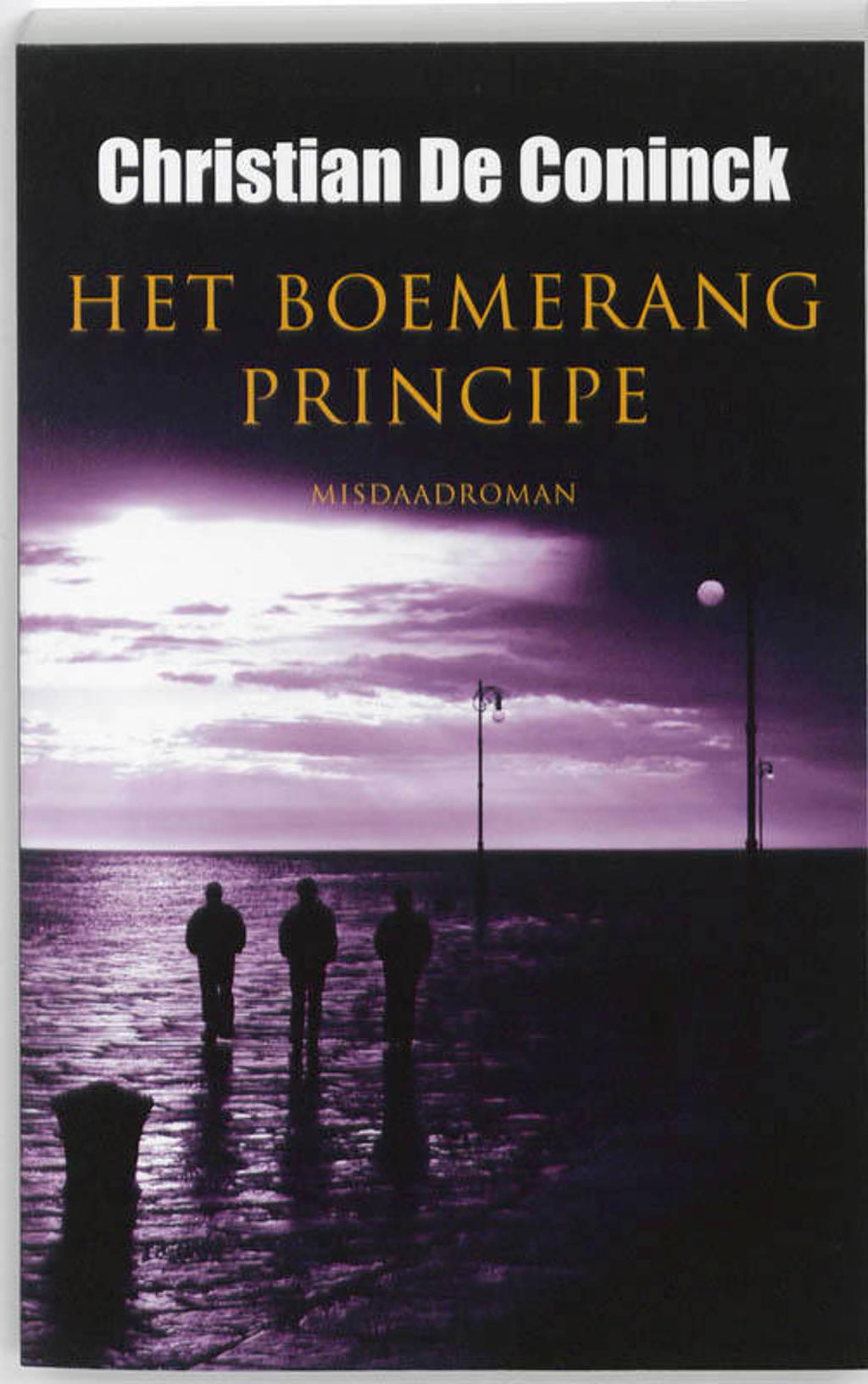 Het boemerangprincipe - Christian De Coninck