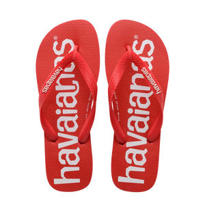 Top Logomania  teenslippers rood
